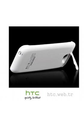 Teleplus Htc One Mini Şarjlı Kılıf Beyaz