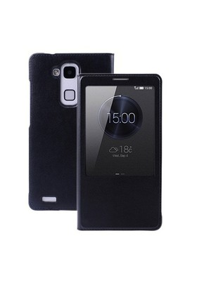 Teleplus Huawei Ascend Mate 7 Pencereli Kılıf Siyah