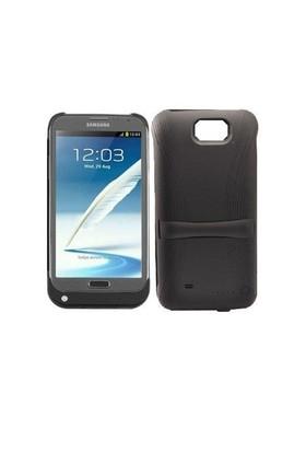 Teleplus Samsung Galaxy Note 2 Şarjlı Kılıf Siyah
