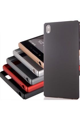 Coverzone Sony Xperia Z5 Premium Kılıf Soft Rubber Tam Koruma Siyah