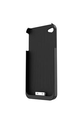 FluxPort Apple iPhone 4/4S için Kablosuz Şarj Kılıfı - Siyah - FP-F-002