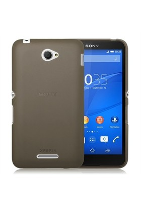 Teleplus Sony Xperia E4 Silikon Kılıf Siyah