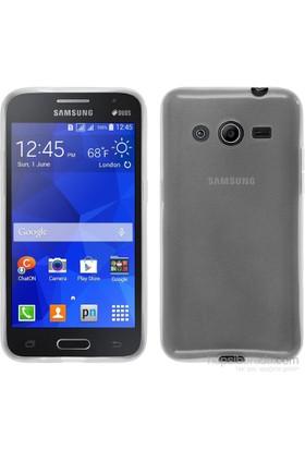 Teleplus Samsung Galaxy Core 2 Tam Korumalı Silikon Kılıf Şeffaf