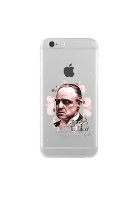 Remeto Samsung Galaxy Note 2 Godfather Transparan Silikon Resimli Kılıf