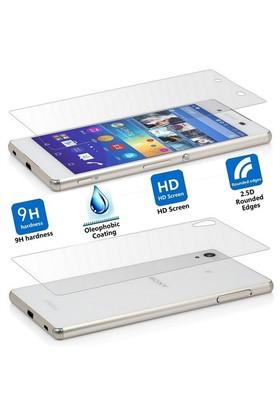 Sonmodashop Sony Xperia Z3 Plus Ön Arka Temperli Cam Ekran