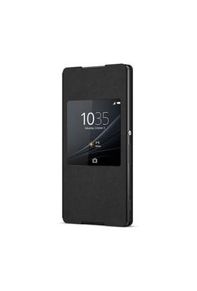 Sony Xperia Z3+ Kılıf Siyah SCR30