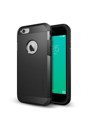 Spigen Apple iPhone 6S/6 Kılıf Tough Armor Black - 11614