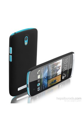 Microsonic HTC Desire 500 Premium Slim Kılıf Siyah - CS110-DSR-500-SYH