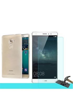Microsonic Huawei Ascend Mate S Transparant Kılıf & Cam