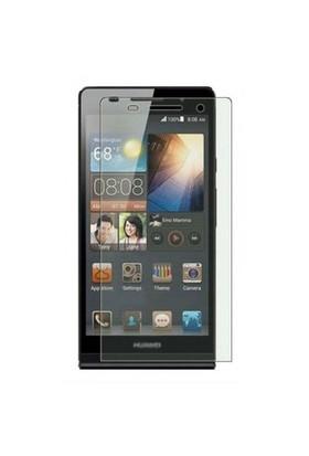 Teleplus Huawei Ascend P6 Şeffaf Cam Ekran Koruyucu Film