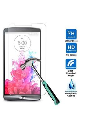 Markaawm Lg G3 Ekran Koruyucu D855 Tempered Glass Cam