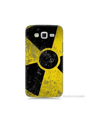Teknomeg Samsung Galaxy Grand 2 Kapak Kılıf Radyasyon Baskılı Silikon