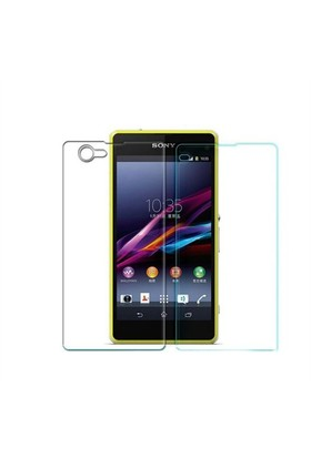 Teleplus Sony Xperia Z1 Mini Ön Ve Arka Cam Ekran Koruyucu Cam Ekran Koruyucu Film
