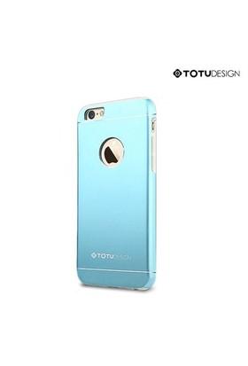 Totu Design Apple iPhone 6 Plus Jaeger Series Metal Arka Kapak Mavi