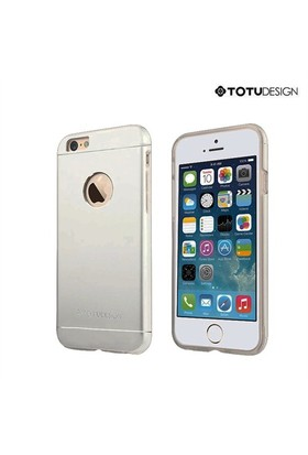 Totu Design Apple iPhone 6 Jaeger Series Metal Arka Kapak Space Grey