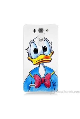 Teknomeg Lg G3 Mini Kapak Kılıf Donald Duck Baskılı Silikon