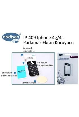 Addison Ip-409 Iphone 4G 4S Mat Ekran Koruyucu