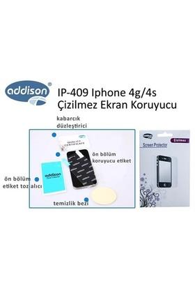 Addison Ip-409 Iphone 4G 4S Çizilmez Ekran Koruyucu