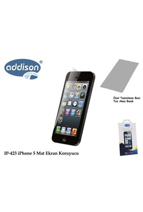 Addison Ip-423 İphone 5 İz Brakmaz Ekran Koruyucu