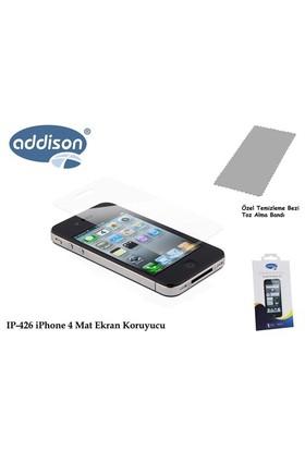 Addison Ip-426 İphone 4 İz Brakmaz Ekran Koruyucu