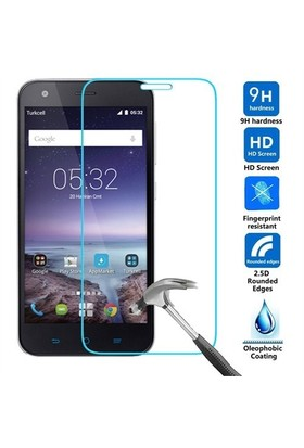 Markacase Turkcell T60 Tempered Cam 0.26 Mm Nano Ultra Glass Technology