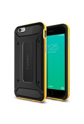 Spigen Apple iPhone 6S Plus Kılıf Spigen Neo Hybrid Carbon Reventon Yellow - 11667