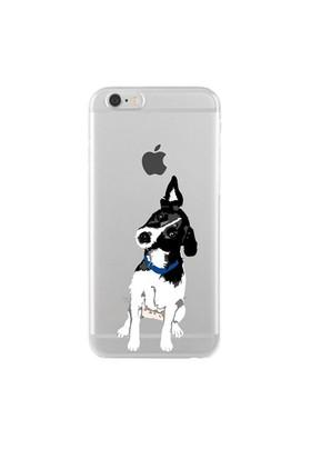 Remeto Samsung Core Prime Transparan Silikon Resimli Şaşkın Köpek