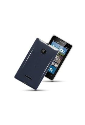 Teleplus Microsoft Lumia 532 Silikon Kılıf Şeffaf