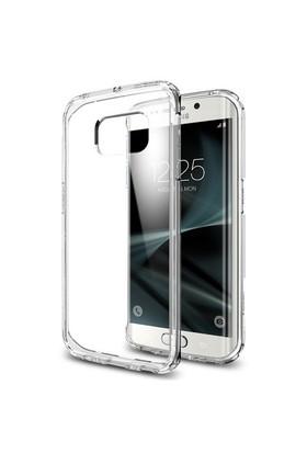 Spigen Samsung Galaxy S7 Edge Kılıf Ultra Hybrid Crystal Clear - 556CS20034
