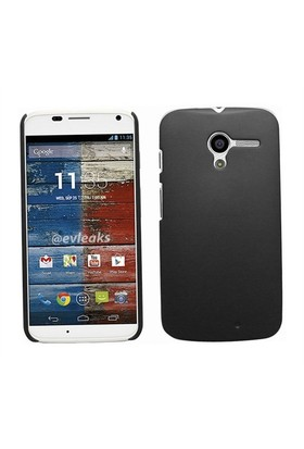 Motorola Moto X Darbe Emici Silikon Kılıf Siyah