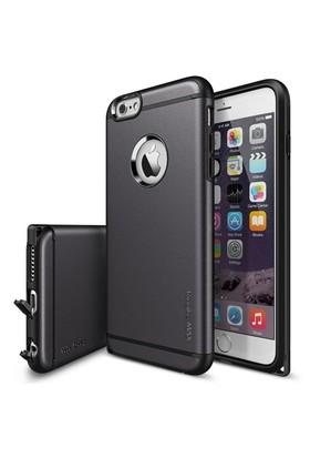 Ringke Max iPhone 6s Plus/ 6 Plus Kılıf Gun Metal - Tam Koruma Isı Dağılımlı Şok Emici Teknoloji