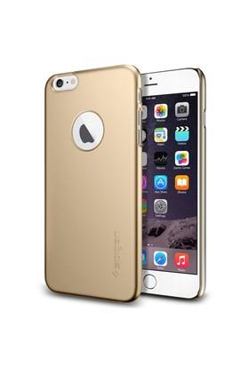 Spigen Apple iPhone 6s Plus/6 Plus Kılıf Thin Fit A Serisi Champagne Gold (PET) - 10889