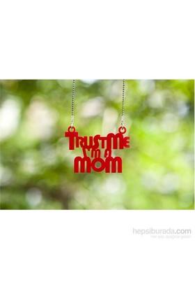 Noramore Trust Me Mom Kolye Kırmızı