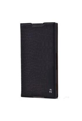 Teleplus Sony Xperia Z4 Flip Cover Kılıf Siyah