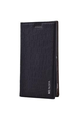 Teleplus Sony Xperia M2 Aqua Flip Cover Kılıf Siyah