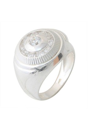 AltınSepeti Gümüş Erkek Yüzük MS134