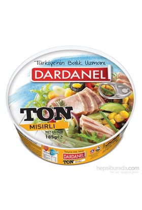 Dardanel Mısırlı Ton Balığı 185 gr