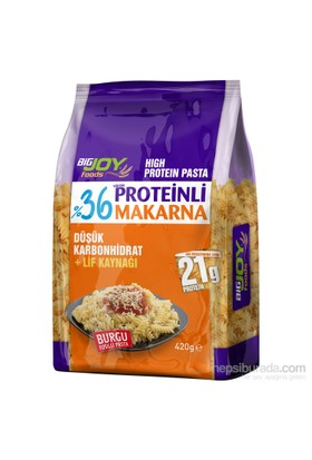Bigjoy Yüksek Proteinli Burgu Makarna 420 gr