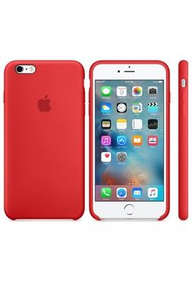 Case 4U Apple iPhone 6 - 6S Plus Silikon Kılıf - Kırmızı