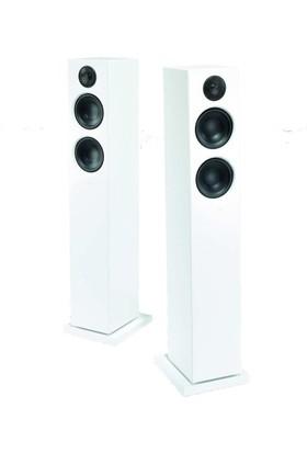 Audiopro T20 Bluetooth Kule Tipi Hoparlör Beyaz