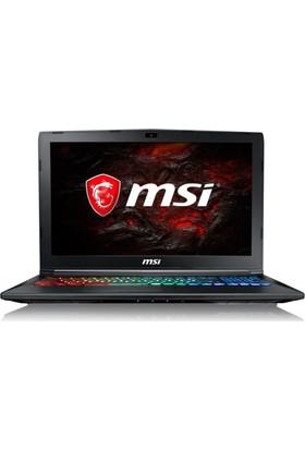 "MSI GP62M 7RDX-2445XTR Intel Core i7 7700HQ 16GB 1TB + 128GB SSD GTX1050 Freedos 15.6"" FHD Taşınabilir Bilgisayar"
