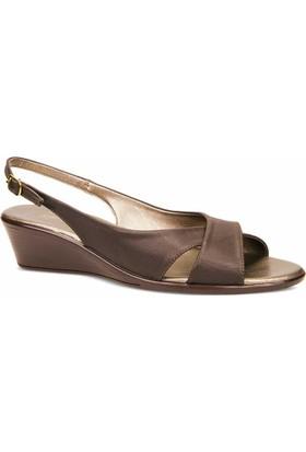 Ceyo Kadın Sandalet Kahverengi 9887-2