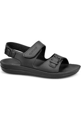 Ceyo Kadın Sandalet Siyah 9890
