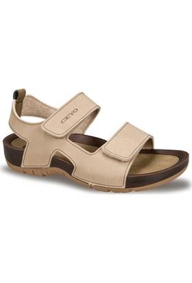 Ceyo Kadın Sandalet Camel 9828-2