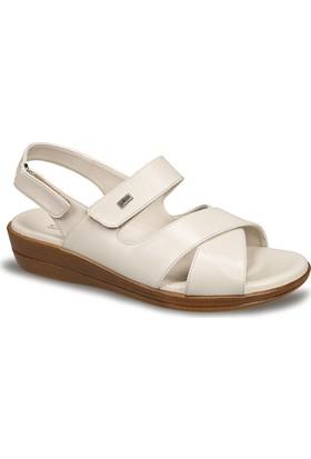 Ceyo Kadın Sandalet Bej 9863-12