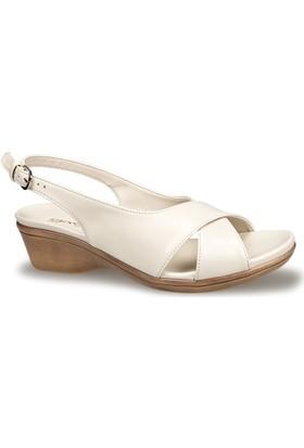 Ceyo Kadın Sandalet Bej 9922