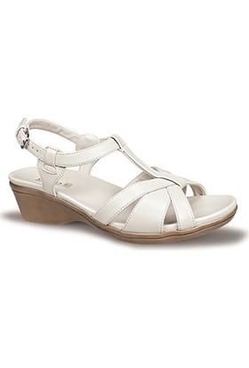 Ceyo Kadın Sandalet Bej 9922-1
