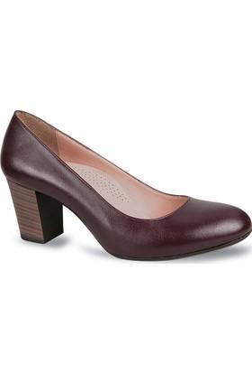 Ceyo Kadın Ayakkabı Bordo 2500