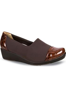 Ceyo Kadın Ayakkabı Taba 9924-7