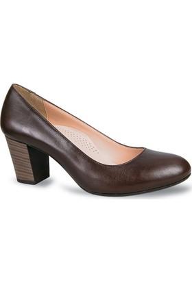 Ceyo Kadın Ayakkabı Kahverengi 2500